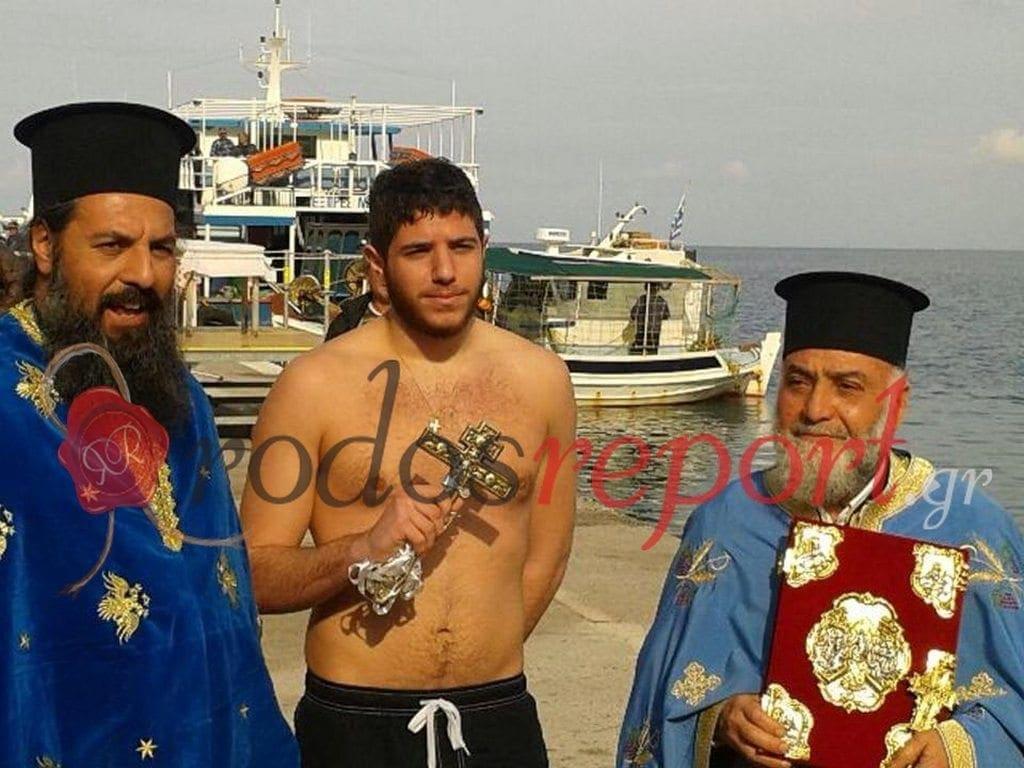 Με λαμπρότητα τελέσθηκε ο Αγιασμός των Υδάτων στην Κάμειρο Σκάλα! Φωτογραφίες