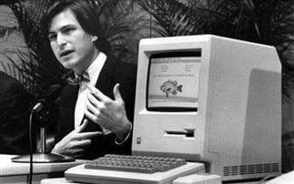 Η πρώτη δημόσια παρουσίαση του Mac από τον Steve Jobs