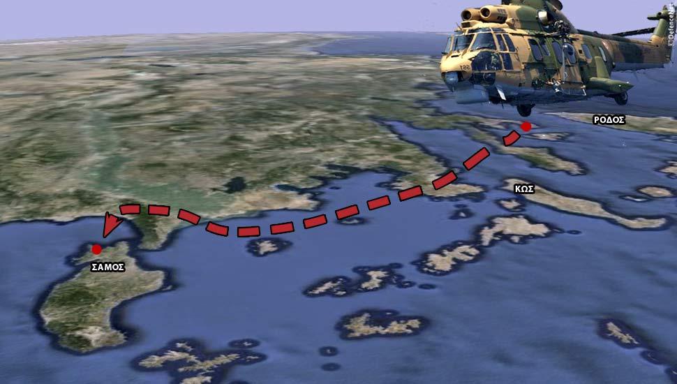Ομάδα Τούρκων κομμάντο μετέφερε το AS-532 Cougar – Τι έψαχναν στην Μουρτιά…