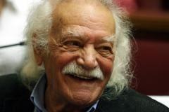 """Μανώλης Γλέζος : """"Το Αιγαίο είναι θάλασσα ελληνική"""""""