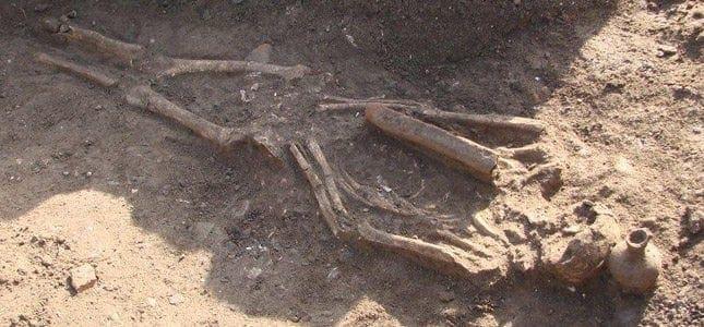 Τρεις ανθρώπινοι σκελετοί από την παλαιοχριστιανική εποχή βρέθηκαν σήμερα στο Τιγκάκι της Κω