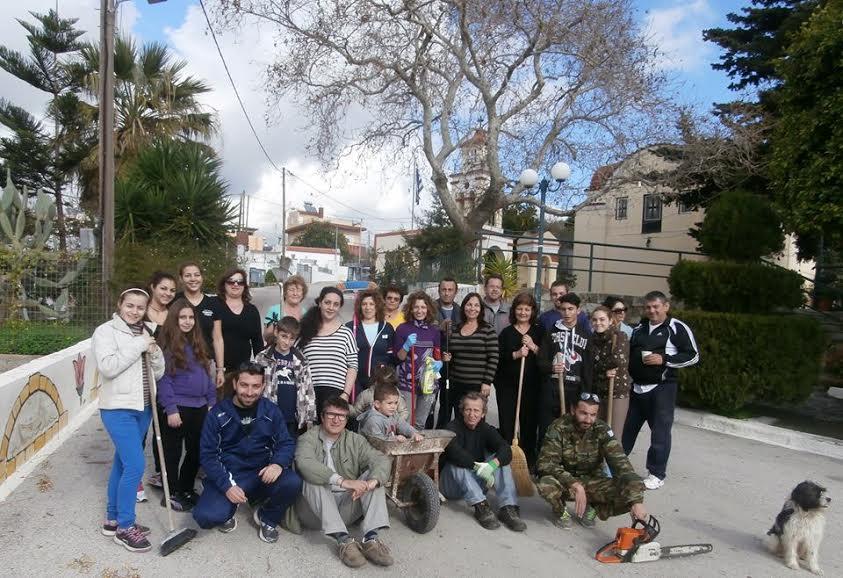 «Kαθαρίσουμε και ομορφαίνουμε το χωριό μας» στην Ίστριο -Φωτογραφίες
