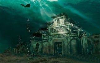 Η νέα «Ατλαντίδα» που ανακαλύφθηκε σε λίμνη της Κίνας!