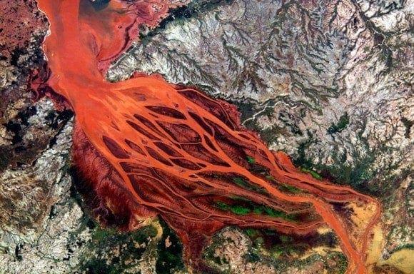 Απίθανες δορυφορικές εικόνες από Δέλτα ποταμών!