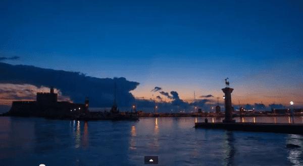 """Winter Days In Rhodes"" Ένα πανέμορφο βίντεο που αναδεικνύει την ""χειμωνιάτικη"" Ρόδο"