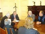 Επίσκεψη συνταξιούχων του δημοσίου στον δήμαρχο για ένα καινούριο γηροκομείο