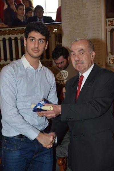 Αργυρό μετάλλιο για τον Αθηναγόρα Σκιαδόπουλο στην 31η Εθνική Μαθηματική Ολυμπιάδα