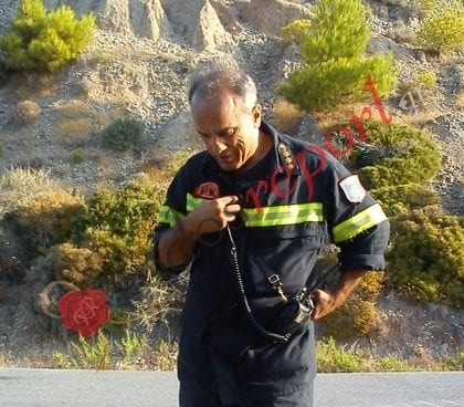 Αποστρατεύθηκε ο διοικητής της Πυροσβεστική Υπηρεσίας Ρόδου Γιάννης Γαϊτανίδης