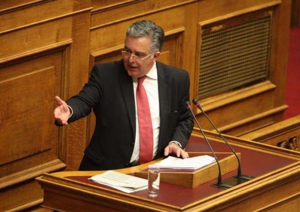 Ομιλία του B.Υψηλάντη στη Βουλή για την αναδιοργάνωση της ΕΛ.ΑΣ και της Πυροσβεστικής