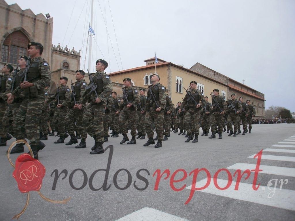 Βίντεο – Η παρέλαση του ένδοξου ελληνικού στρατού στη Ρόδο!