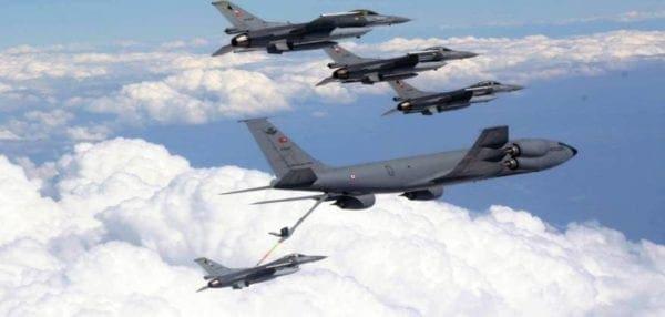Δεκάδες οι παραβιάσεις του ΕΕΧ από τουρκικά μαχητικά και ελικόπτερα