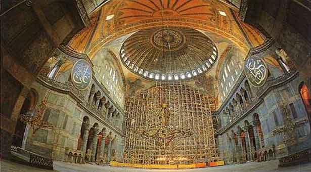 Το μυστικό στο χτίσιμο της Αγίας Σοφίας βρίσκεται στη Ρόδο