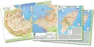 Ο Νέος τουριστικός Χάρτης της Ρόδου από την διεύθυνση τουρισμού