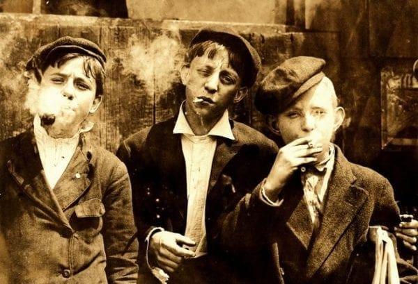 Η ιστορία του καπνίσματος