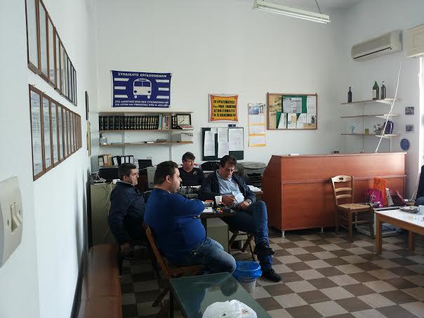 Συνάντηση του Λουκά Κωτσαδάμ με τους εργαζόμενους του ΡΟΔΑ