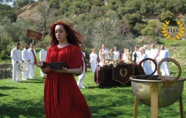 Έτσι γιόρτασαν οι Έλληνες Εθνικοί την Εαρινή Ισημερία σε όλη την Ελλάδα και τη Ρόδο