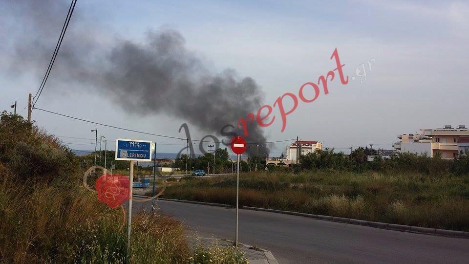 Μαύρισαν τα πνευμόνια μας απο τις φωτιές των τσιγγάνων – Ντουμάνιασε η πόλη (φωτο)