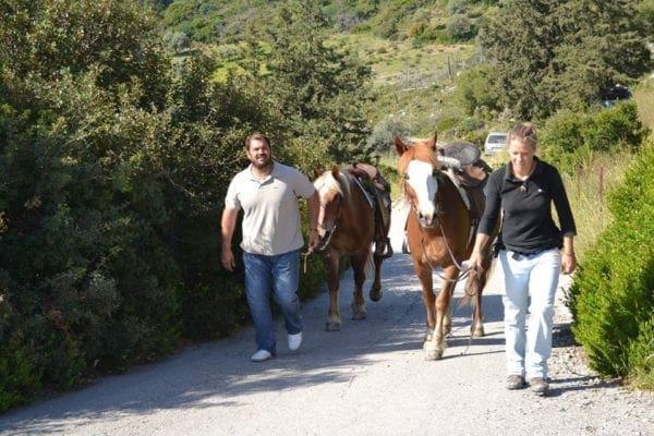 Με άλογα η Εικόνα του Ταξιάρχη του Θαρρενού στα Λάερμα – H αναβίωση ενός παλαιού εθίμου