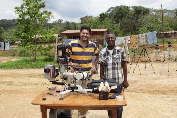 """Μια ξεχωριστή ομιλία στο Astronomy Cafe ! """"Αποστολή παρατήρησης ολικής έκλειψης Ηλίου στο Gabon της Αφρικής"""""""