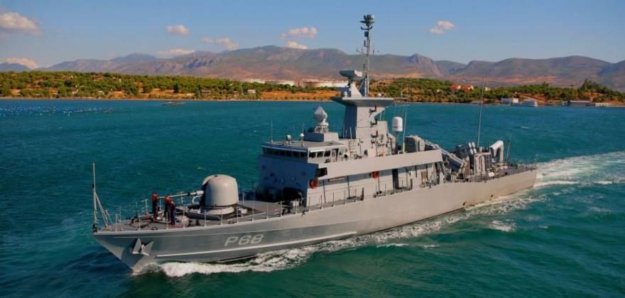 Επεισόδιο νότια της Κρήτης με ελληνική ΤΠΚ, τουρκική φρεγάτα και γερμανικό ερευνητικό πλοίο