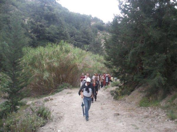 Περισσότεροι από 150 περιπατητές στην δράση «Πάμε για περπάτημα; Γυμναζόμαστε γνωρίζοντας τη Ρόδο μας»