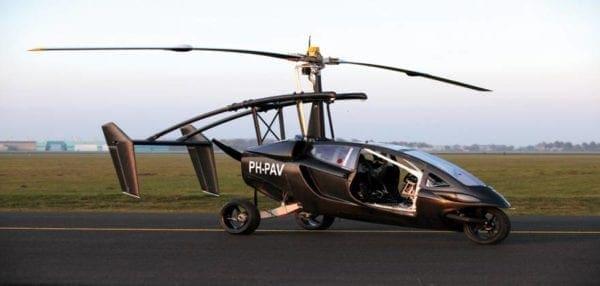 Tο πρώτο ιπτάμενο αυτοκίνητο (vid)
