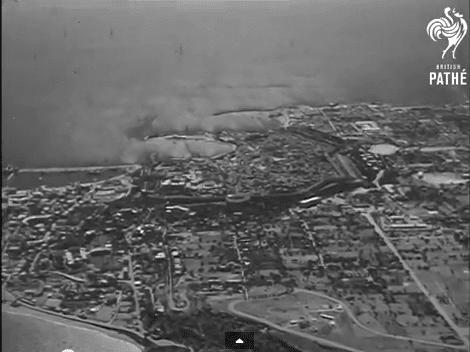 Σπάνιο Βίντεο Ντοκουμέντο με εναέρια λήψη της Ρόδου το 1948 !
