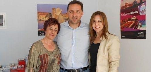 Το νέο Γραφείο Πληροφοριών του Δήμου Ρόδου στο Φαληράκι