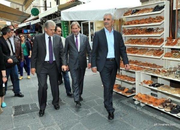 Ικανοποίηση του Ευρωπαίου Επιτρόπου Johannes Hahn για τα εκτελούμενα χρηματοδοτούμενα έργα στην Ρόδο