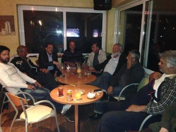 Επίσκεψη του Φ. Χατζηδιάκου σε Κρητηνία και Μανδρικό