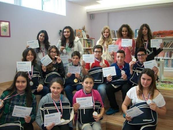 Διάκριση μαθητών του «ΡΟΔΙΩΝ ΠΑΙΔΕΙΑ» σε Πανελλήνιους Διαγωνισμούς Γαλλοφωνίας 2014