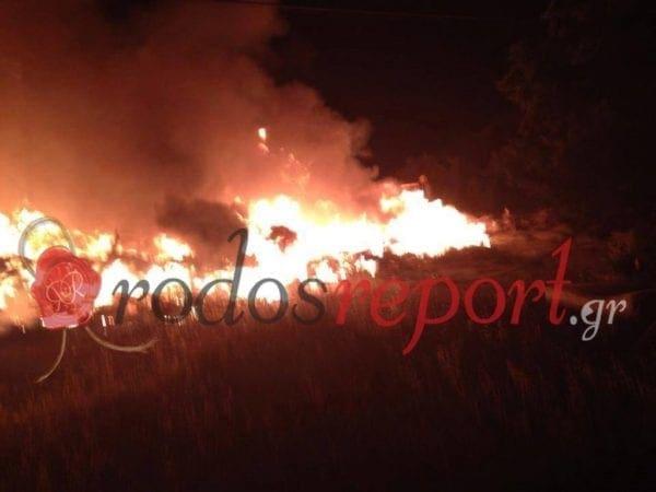 Έκτακτο: Φωτιά στις Καλυθιές – Φωτογραφίες