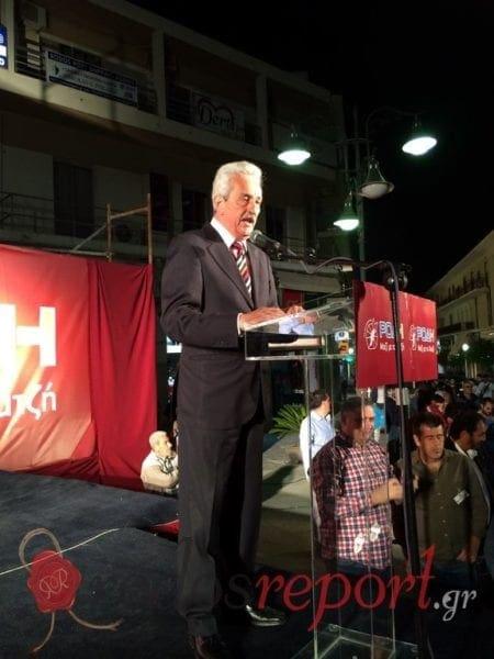 Απόψε η πλατεία μίλησε για τον Χατζή Χατζηευθυμίου – Φωτορεπορτάζ