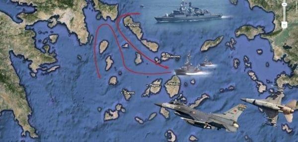 Εθνική ταπείνωση σε απόσταση μερικών μιλίων από τις ακτές της Αττικής – Μάθημα προς όλους…