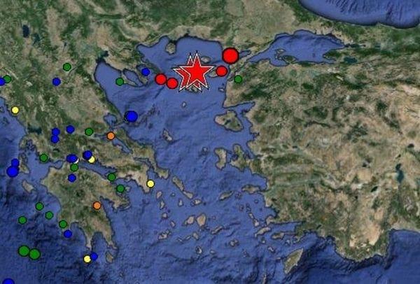Μεγάλος σεισμός 6,3 ρίχτερ κοντά στη Λήμνο με ελαφρά τραυματίες