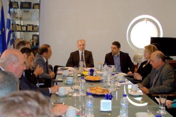 Συνάντηση του υποψήφιου δημάρχου Ρόδου  Φώτη Χατζηδιάκου με την Ένωση Ξενοδόχων Ρόδου
