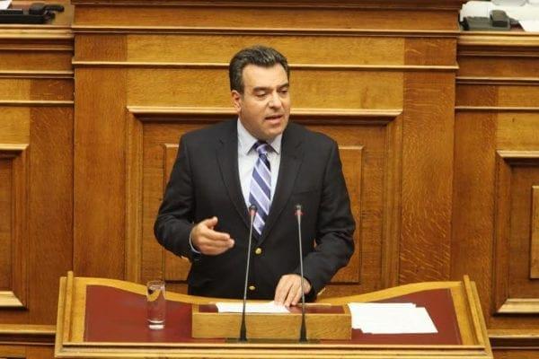 """Μάνος Κόνσολας: """"Επιστρέφει το κλίμα σταθερότητας και εμπιστοσύνης""""-Ομιλία στη Βουλή για το Μεσοπρόθεσμο"""