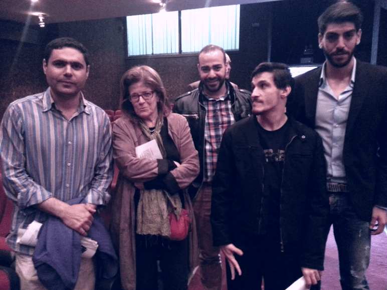 Μέλη του Ομίλου με την κ. Πωλ Ρωσσετώ, Διευθύντρια Σπουδών του Γαλλικού Ινστιτούτου Αθηνών.