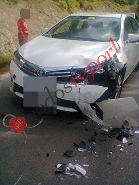 Τροχαίο ατύχημα με τραυματισμό στην επαρχιακή οδό Καμείρου Σκάλας – Κρητηνίας