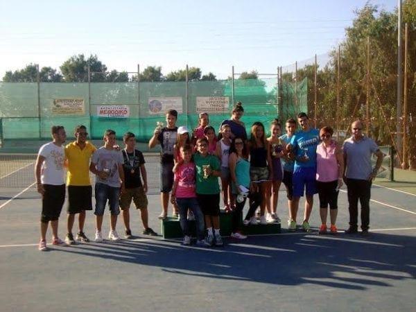 Επιτυχημένο το τετραήμερο της 4ης αγωνιστικής του πρωταθλήματος Junior τένις ΡΟΔΟΥ 2014