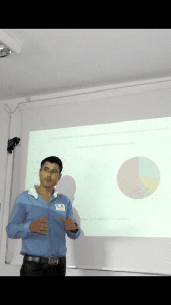 Ο Γιώργος Παπακαλοδούκας συμμετείχε σε διεθνές συνέδριο γλωσσολογίας
