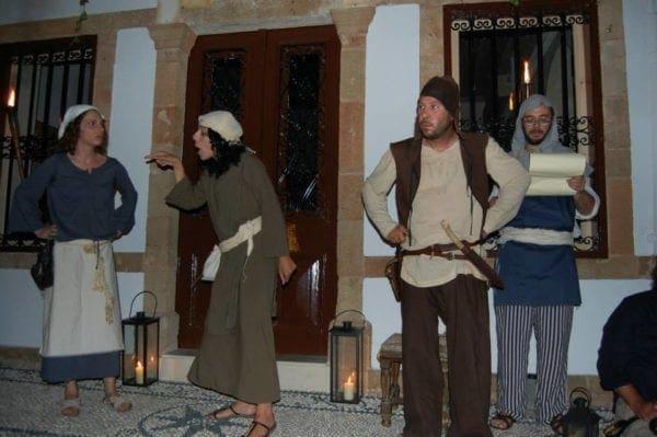 Το 8ο Μεσαιωνικό Φεστιβάλ νήσου Ρόδου ξεκινάει με τη Μεσαιωνική Βραδιά στη Λίνδο