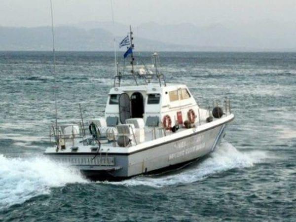 Εντοπισμός και σύλληψη παράνομων μεταναστών στη θαλάσσια περιοχή νοτιοανατολικά ν.Καρπάθου