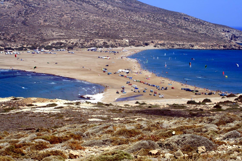 Prassonissi_beach