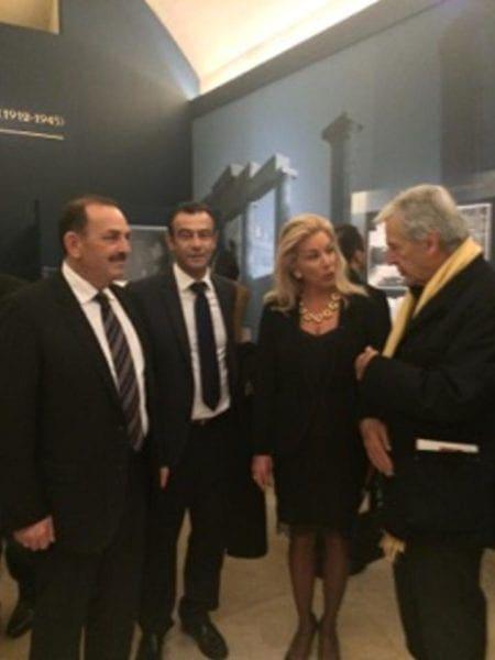 Συναντήσεις Δημάρχου στο περιθώριο της έκθεσης του Μουσείου Λούβρου