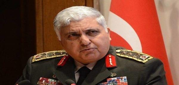 """Αρχηγός τουρκικού Γενικού Επιτελείου: """"Η Τουρκία απειλείται με διάσπαση"""""""