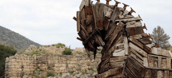 Αρχαιολόγοι ισχυρίζονται ότι βρήκαν τον Δούρειο Ιππο στα ερείπια της αρχαίας Τροίας