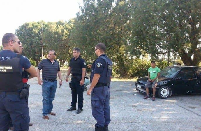 Έδιωξαν τσιγγάνους απο ακίνητα του Δήμου στη λαϊκή του Ταξιάρχη, καθώς και στο πάρκο του παλιού κοιμητηρίου του Αγίου Δημητρίου