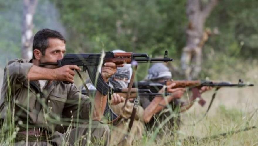 PKK-fighters