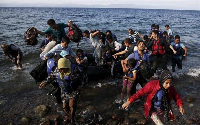 120 μετανάστες βγήκαν στην Παλιόχωρα